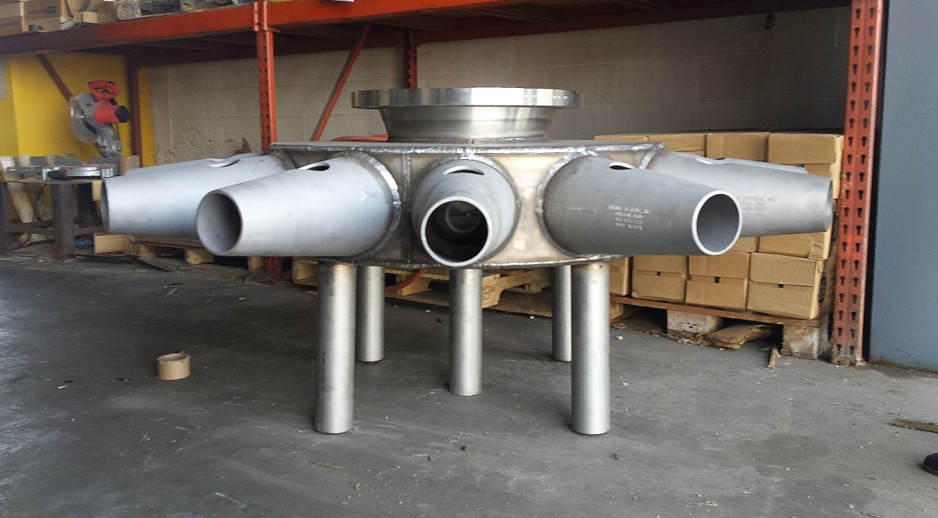 super duplex stainless steel jet mixers for blending and solids suspension