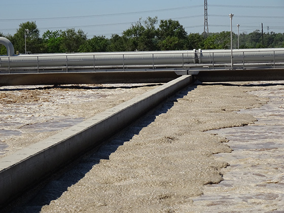 jet aeration activated sludge system operation at municipal waste water treatment plant
