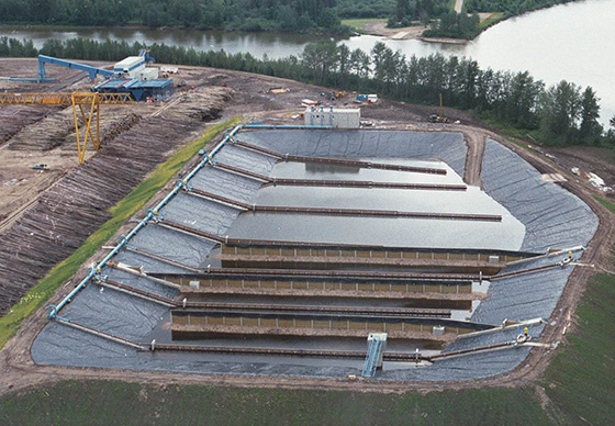 jet aerators in activated sludge tank treating 100,000 lb per day bod at canadian pulp mill