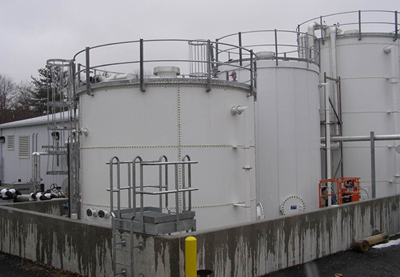 ph control mixing tanks