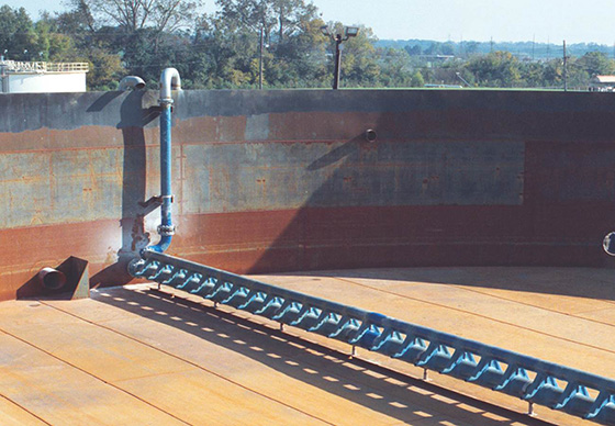 jet aerators for activated sludge chemical plant louisiana