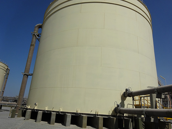 elevated tanks for solids suspension and process mixing