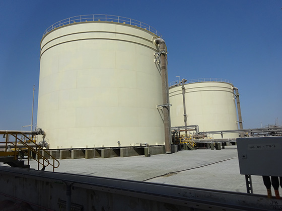 phosphoric acid tanks for solids suspension