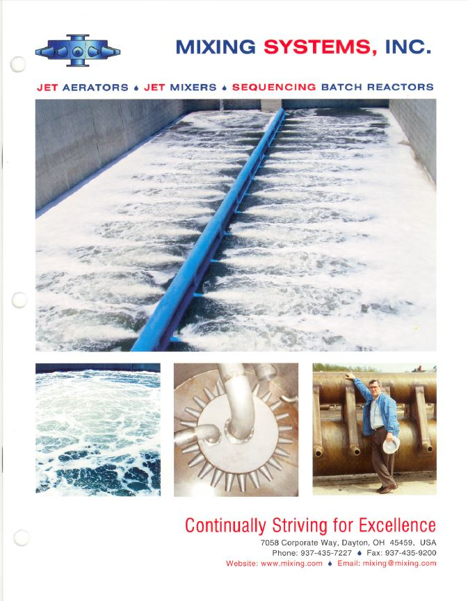 1. Mixing Systems Inc. Company Brochure